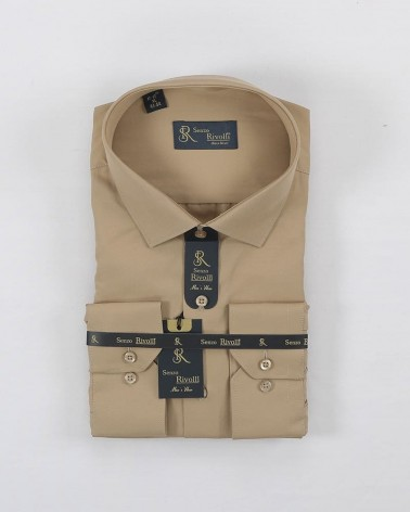 Chemise tabac  coupe...